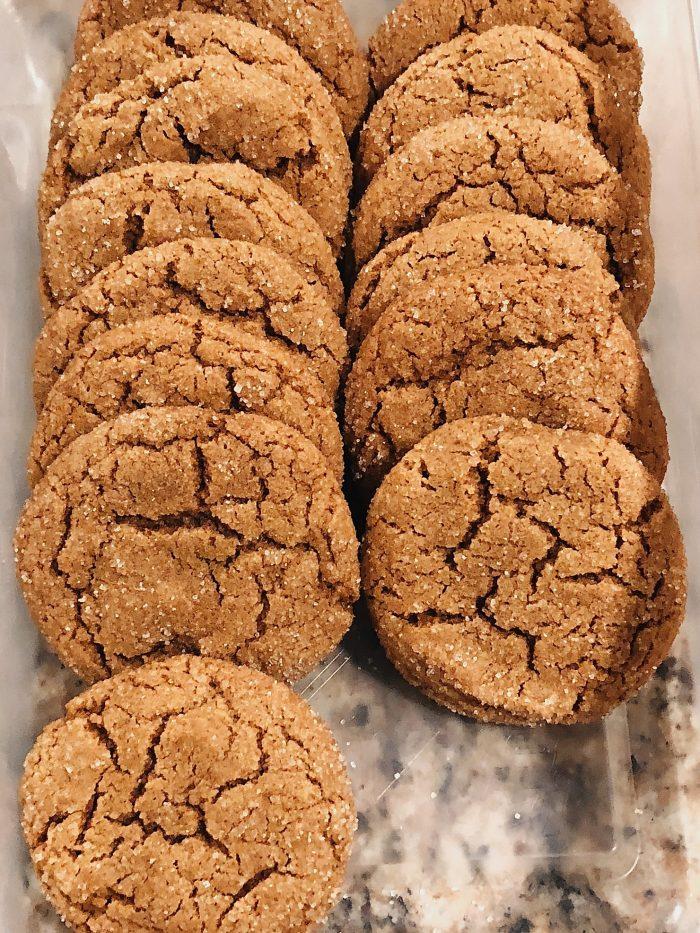 Easy Ginger Crackles